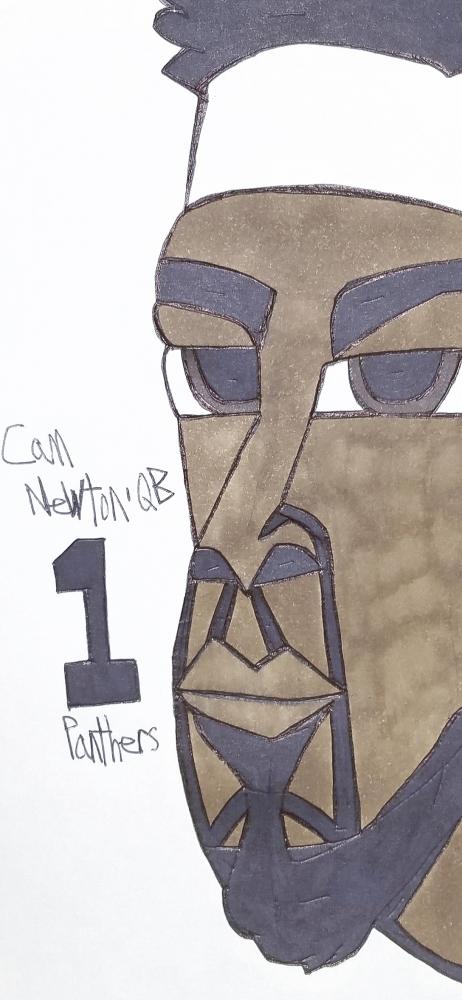 Cam Newton by armattock